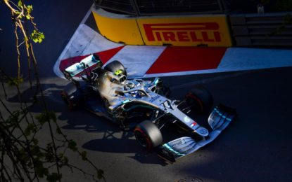 A Baku quarta prima fila Mercedes, Vettel 3°. Ma succede di tutto