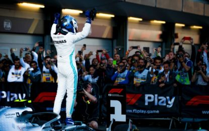 Baku: dominio Bottas, quarta doppietta record Mercedes e Vettel terzo