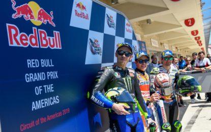 MotoGP: settima pole per Marquez, tallonato da Rossi