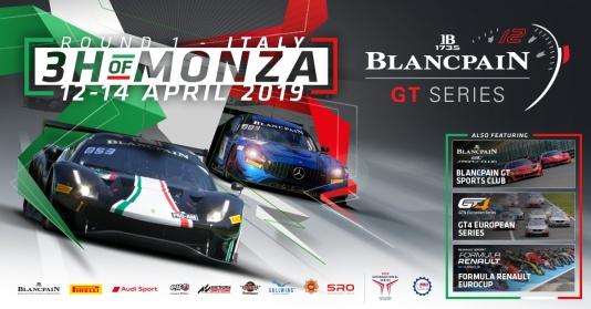 3H of Monza: 49 vetture al via nella Blancpain GT Series