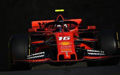 Azerbaijan: Leclerc-Vettel-Hamilton nelle FP2