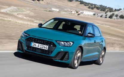 Audi A1 Sportback con il tre cilindri 1.0 TFSI