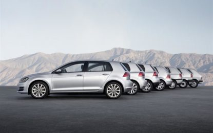 Buon compleanno, Volkswagen Golf!