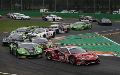 Nel weekend GT e Turismo in pista a Monza