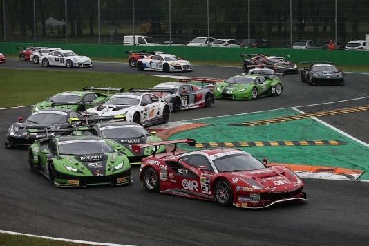 Nel weekend GT e Turismo in pista a Monza
