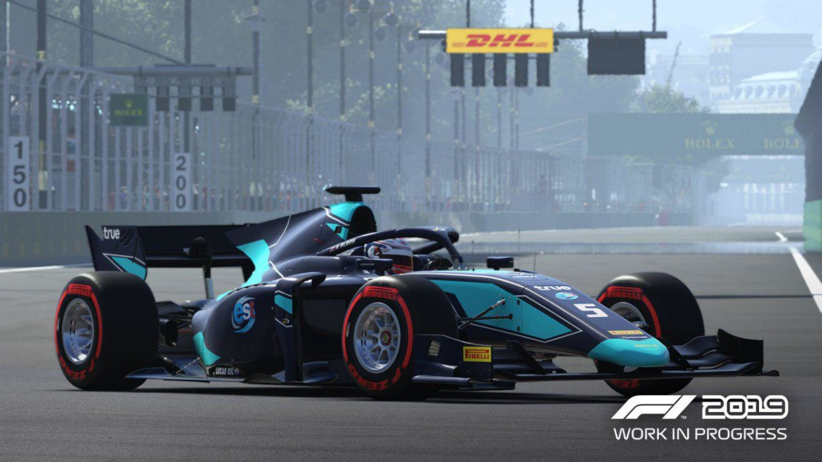 Formula 2 added to F1 2019, the official video game of Formula 1