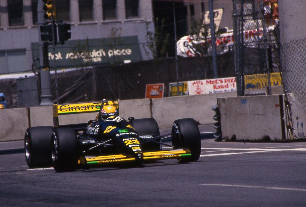 Detroit 1988: Minardi nella storia con i primi punti Mondiali