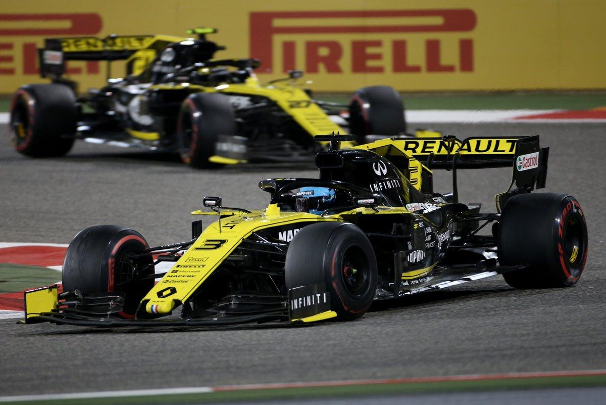 Renault F1 Team: doppio ritiro choc in Bahrain
