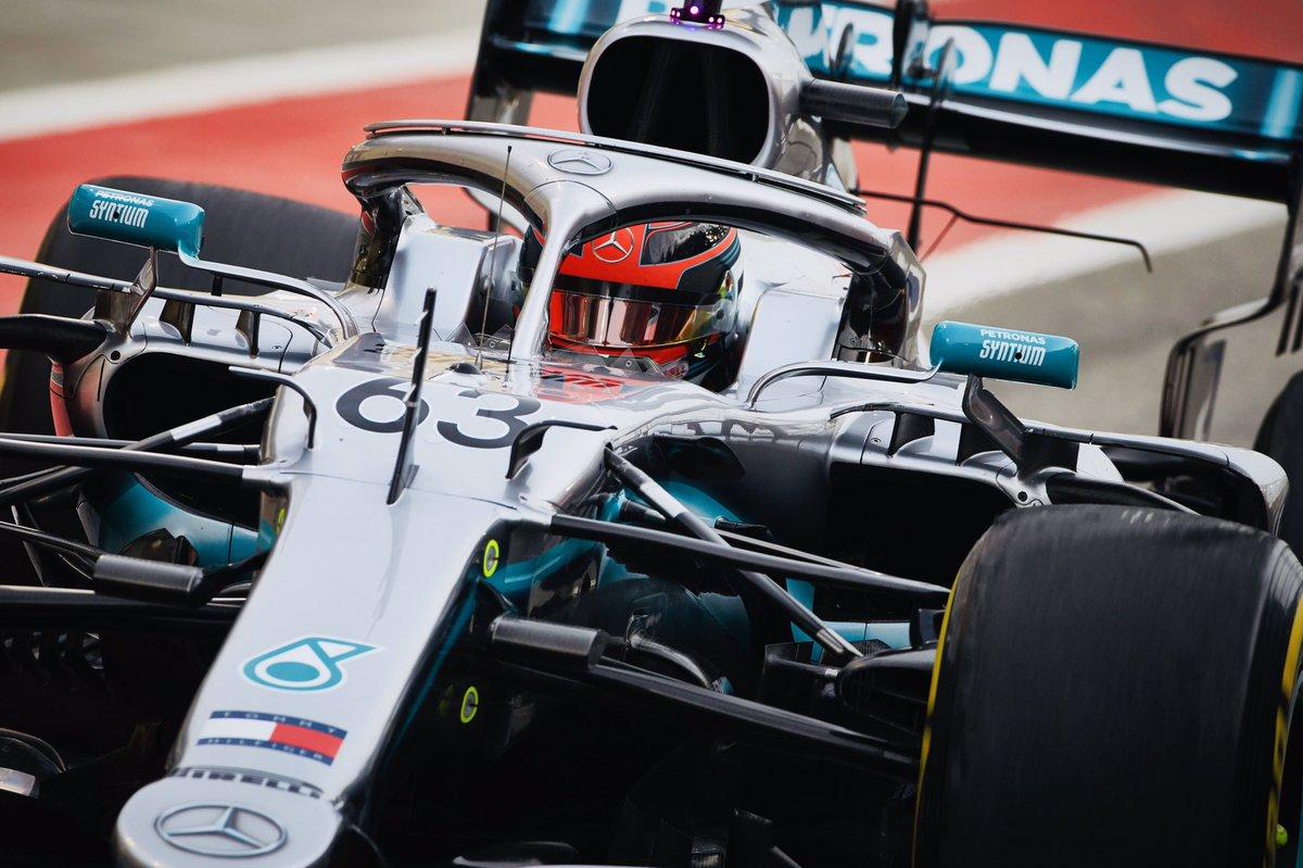 Test finiti con il miglior tempo di Russel su Mercedes. Vettel 3°