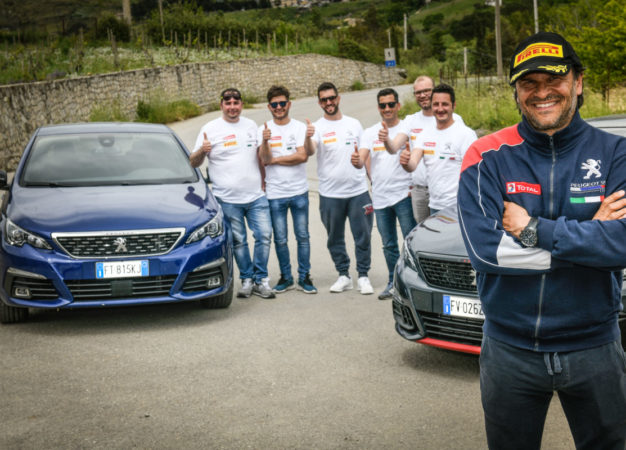 Peugeot Motorsport Academy: allievi entusiasti del prof Andreucci!