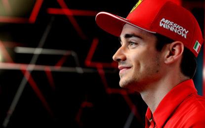 Leclerc in Ferrari fino a fine 2024