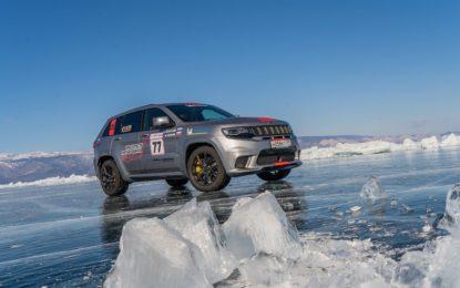 Jeep Grand Cherokee Trackhawk: record sul ghiaccio