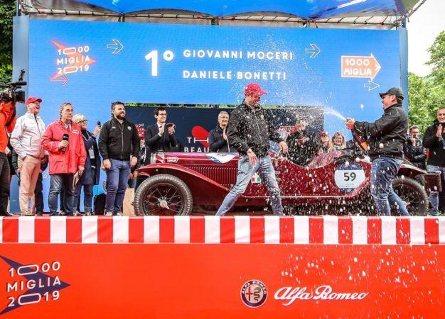 Doppietta Alfa Romeo alla 1000 Miglia 2019