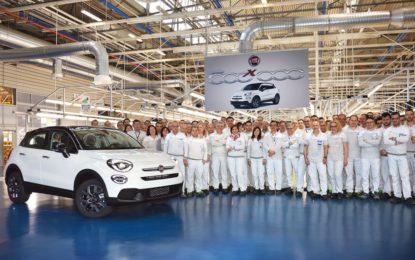 Fiat 500X da record: prodotta la 500millesima unità