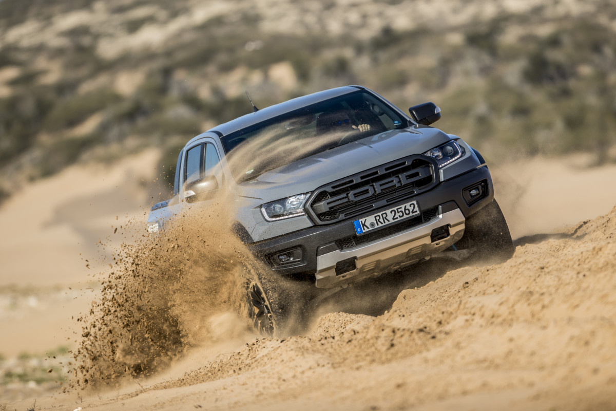 Nuovo Ford Ranger Raptor