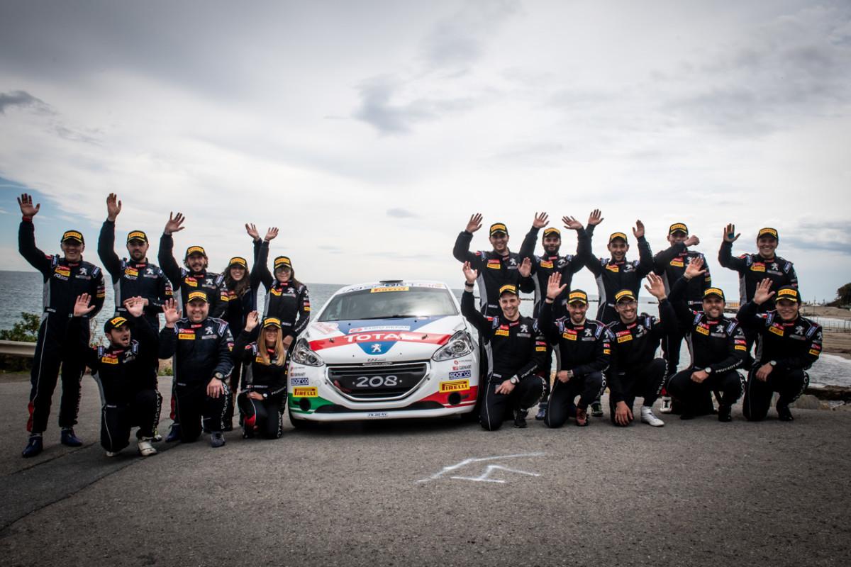 Peugeot Italia lancia la Motorsport Academy con il maestro Andreucci