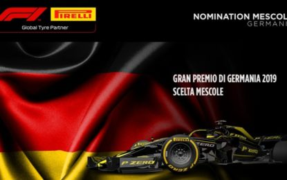 Le mescole nominate per il GP di Germania 2019