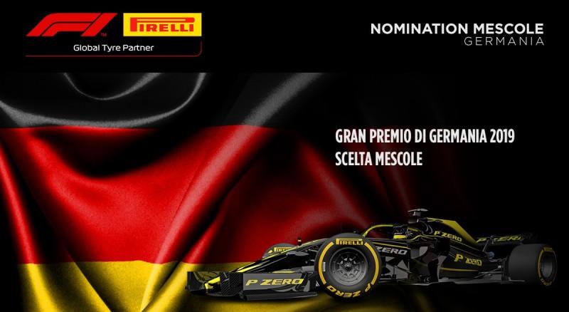 Le mescole nominate per il GP di Germania 2019