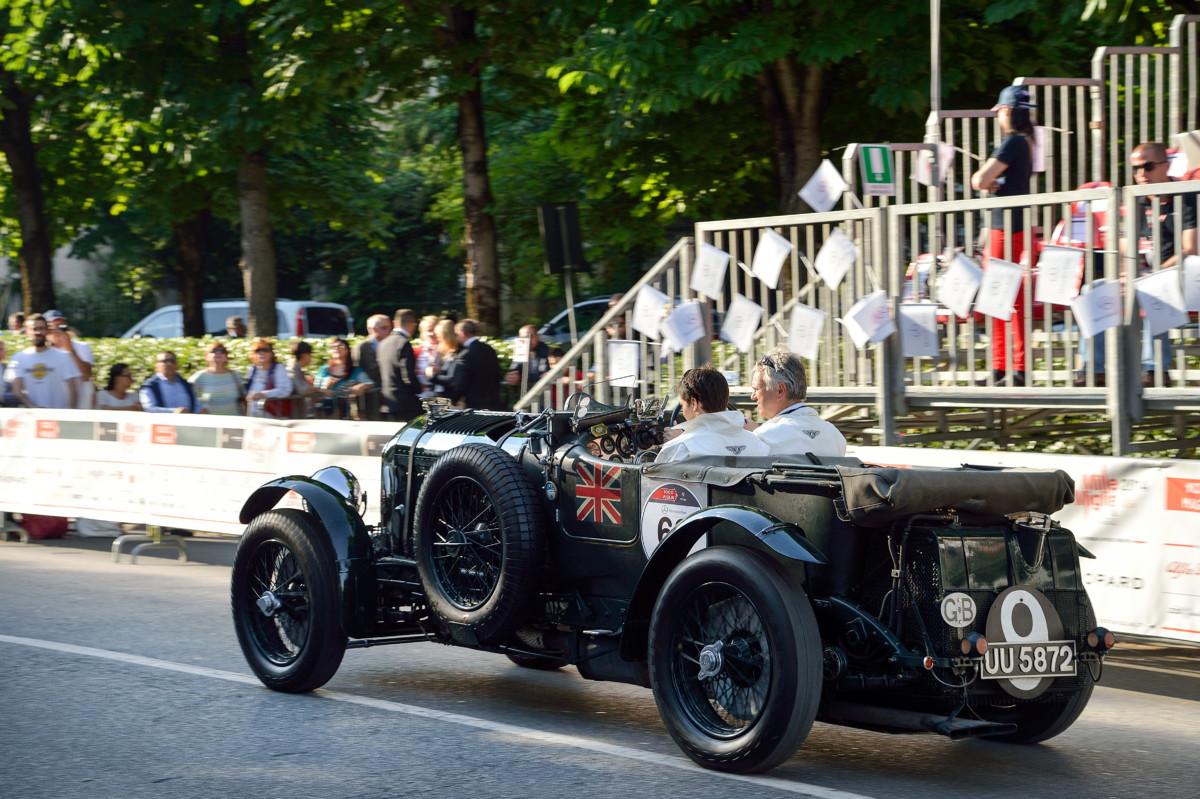 Bentley celebra il centenario alla Mille Miglia
