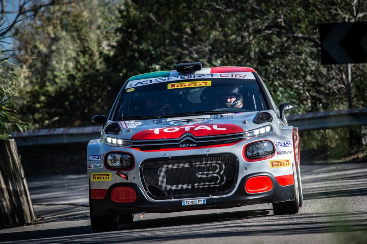 CIR: Rossetti-Mori e la C3 R5 secondi alla Targa Florio