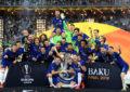 Yokohama festeggia il Chelsea vincitore Europa League 2019