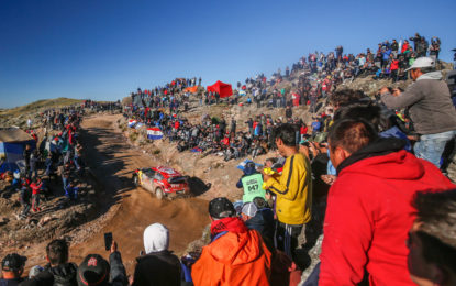 La prima volta della C3 WRC in Cile