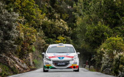 Peugeot pronta per il 103° Rally Targa Florio