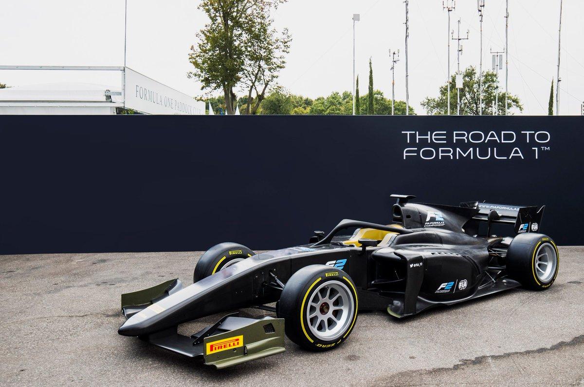 Dal 2020 sulle Formula 2 i pneumatici Pirelli da 18″