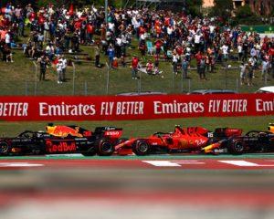 Honda di ritorno: Verstappen e Gasly come in un quadro di Hokusai