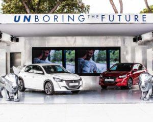 Peugeot Unboring the Future agli Internazionali BNL