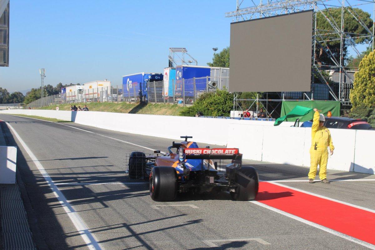 Team in pista a Barcellona per il secondo test in-season