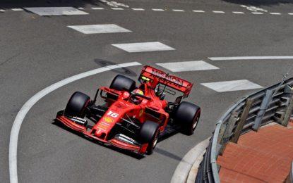 Monaco: Leclerc davanti alle Mercedes in FP3. Vettel out. E rischio penalità