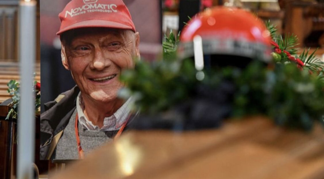 A Vienna l'ultimo saluto a Niki Lauda
