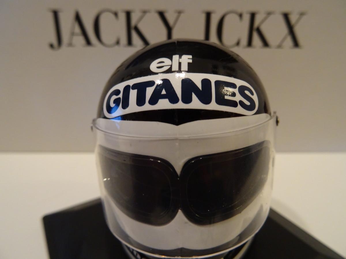 Jacky Ickx, il vero Michel Vaillant: il suo casco in edicola