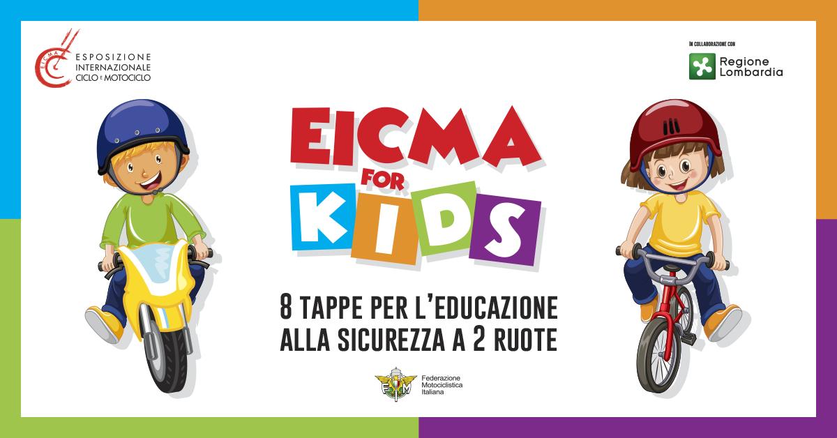 EICMA FOR KIDS: moto e bici spiegate ai bambini