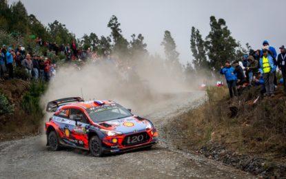 WRC: Hyundai in Portogallo per difendere la leadership