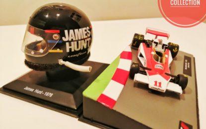 Il casco icona anni 70 di James Hunt