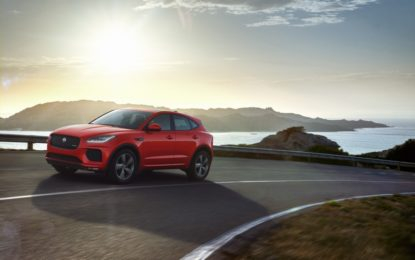 Jaguar E-PACE Chequered Flag special edition