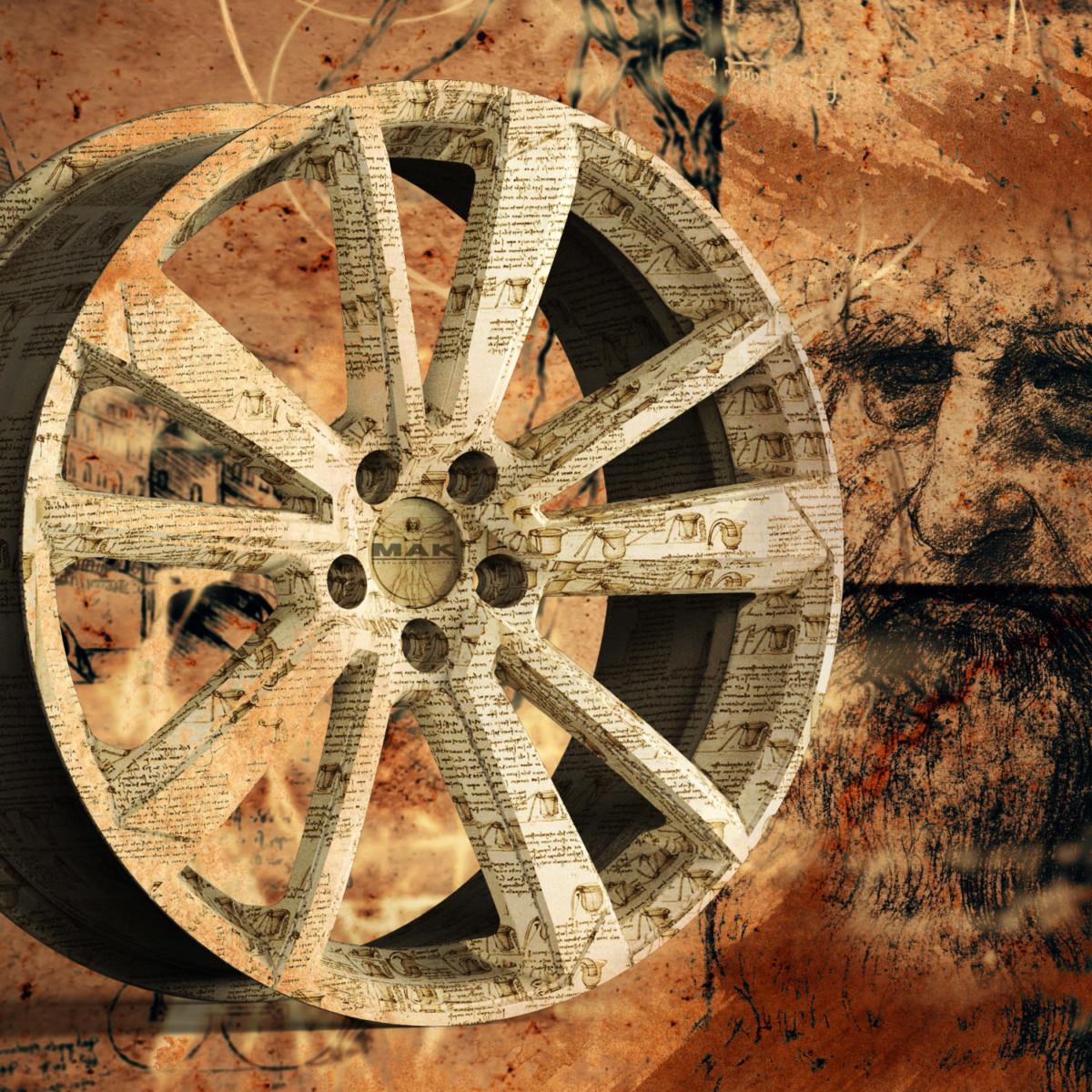 MAK: una ruota speciale per celebrare Leonardo da Vinci