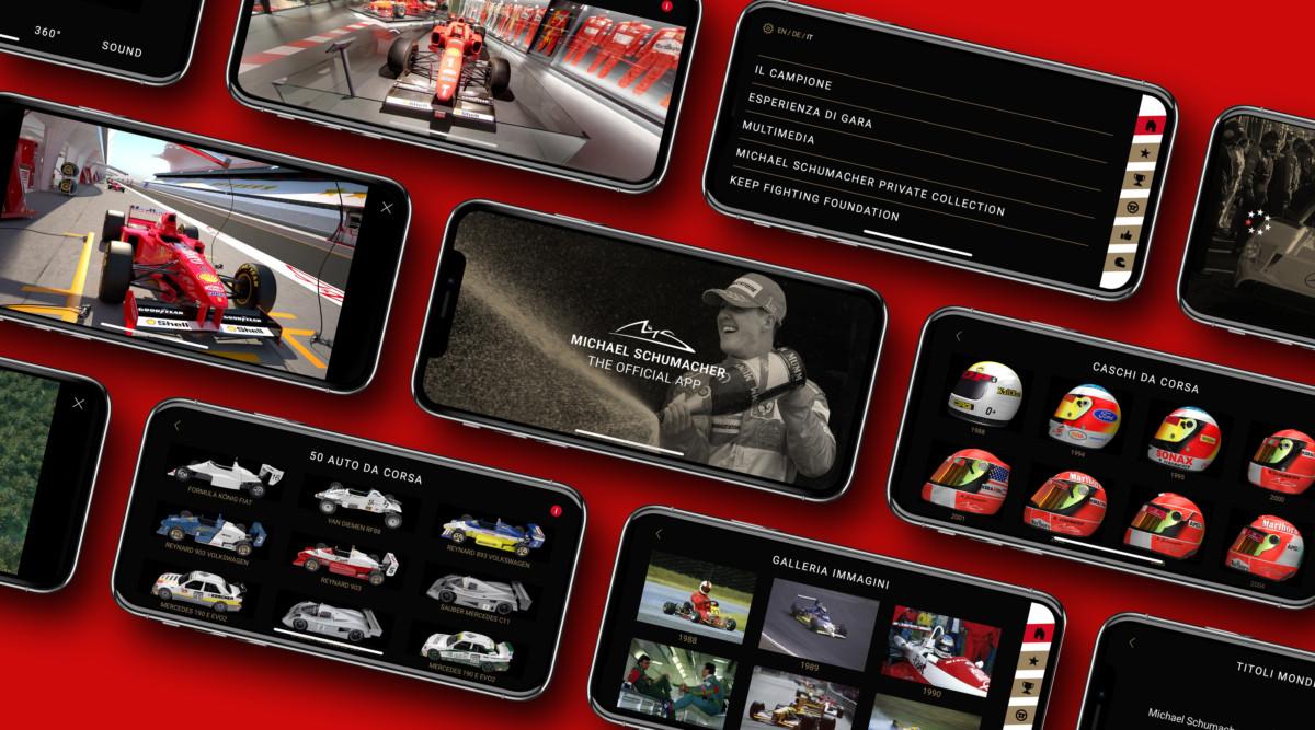 Schumacher. The Official App aggiornata e anche in italiano