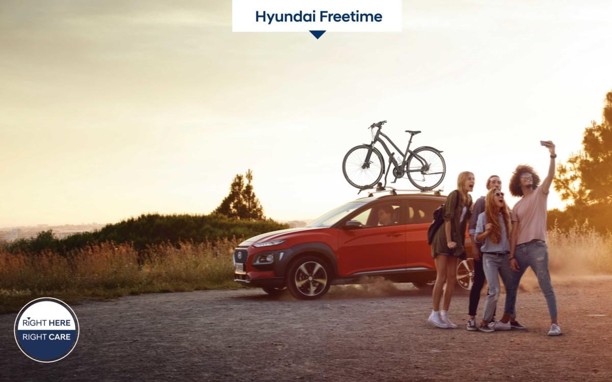 Hyundai Freetime: il noleggio di accessori originali