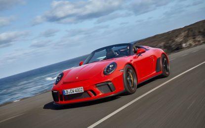 Nuova 911 Speedster in produzione in serie limitata