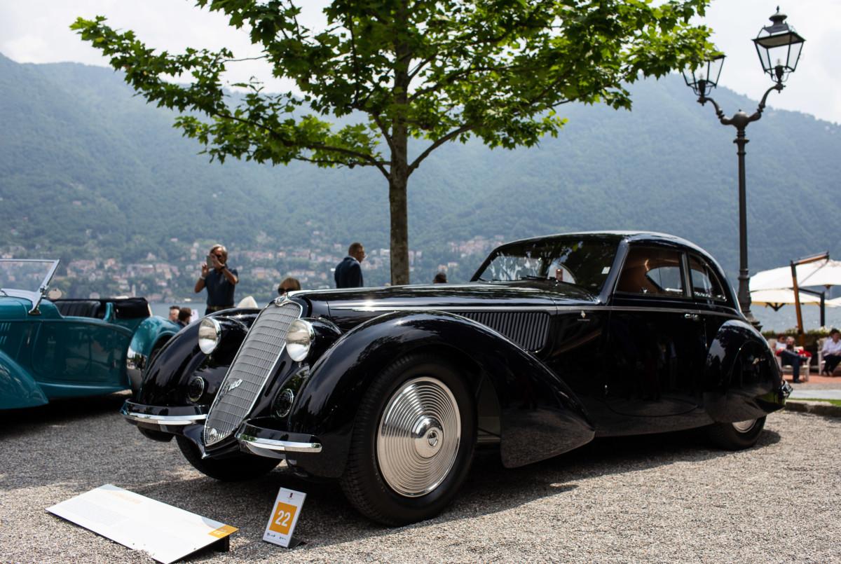 Coppa d'Oro all'Alfa Romeo 8C 2900B