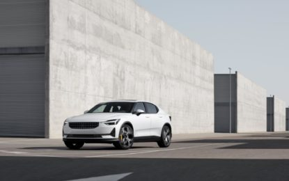 Il Polestar 2 world tour arriva in Europa