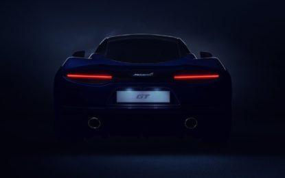Conto alla rovescia per la nuova McLaren GT