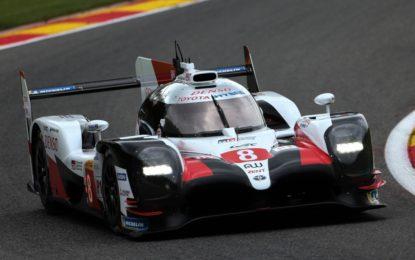 Pole a Spa per Toyota GAZOO Racing