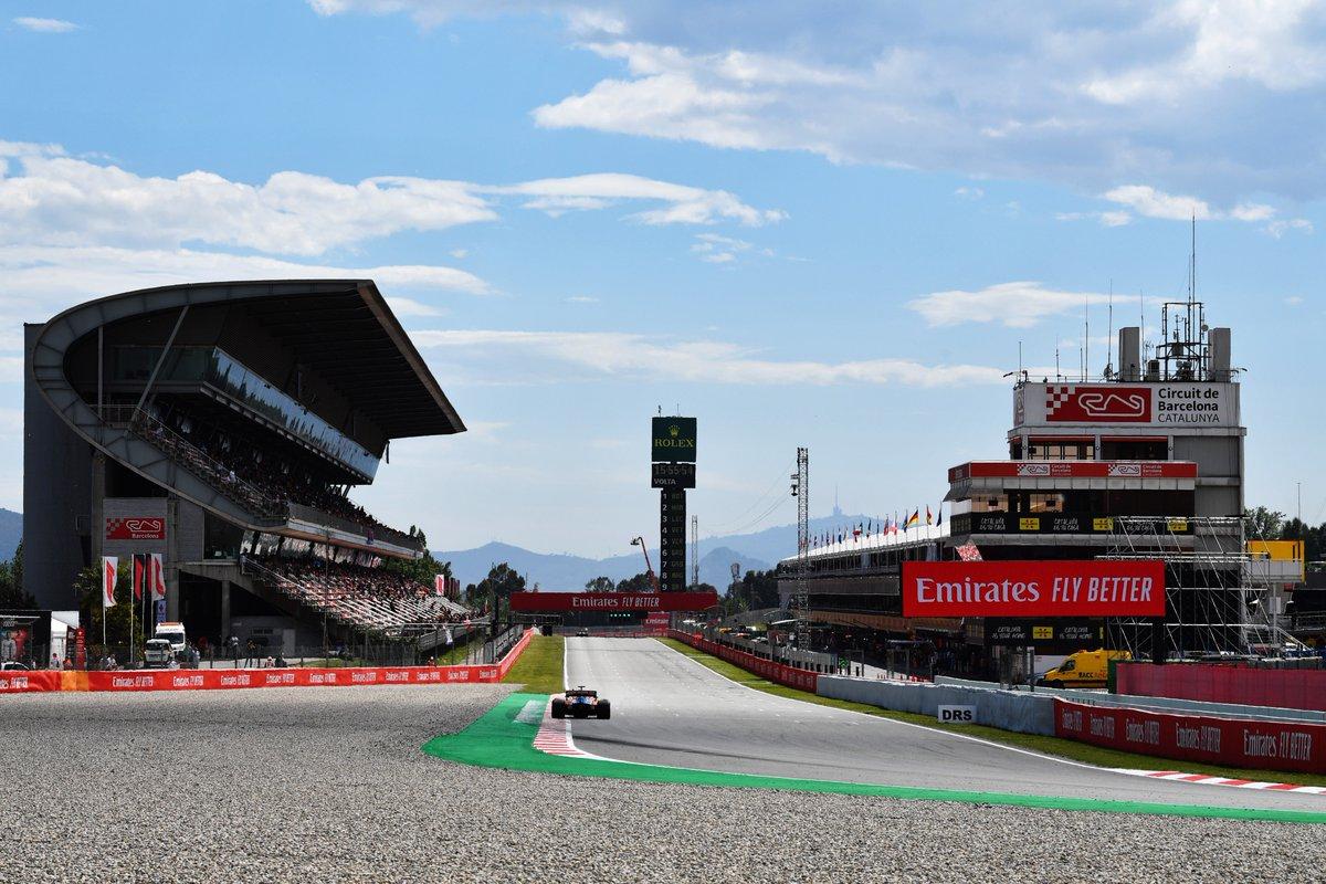 Grandi cambiamenti per i test F1 di Barcellona