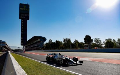 Test Day 1: Bottas-Leclerc. E il botto di Ilott