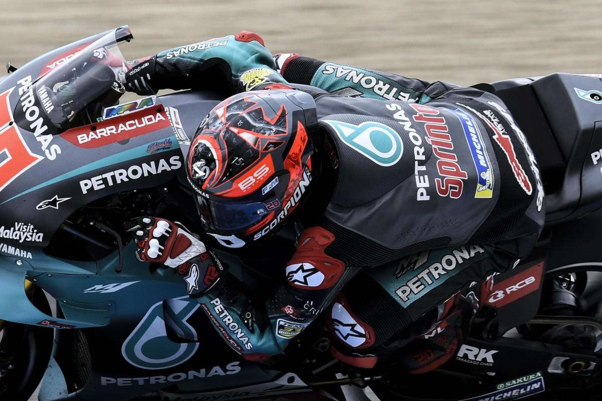 Jerez: prima pole per Quartararo davanti a Morbidelli e Marquez