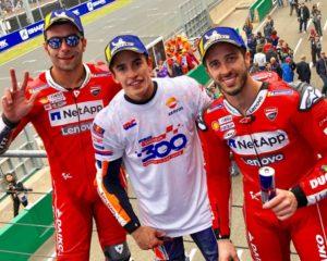Marquez e le Ducati dominano Le Mans. Honda a quota 300